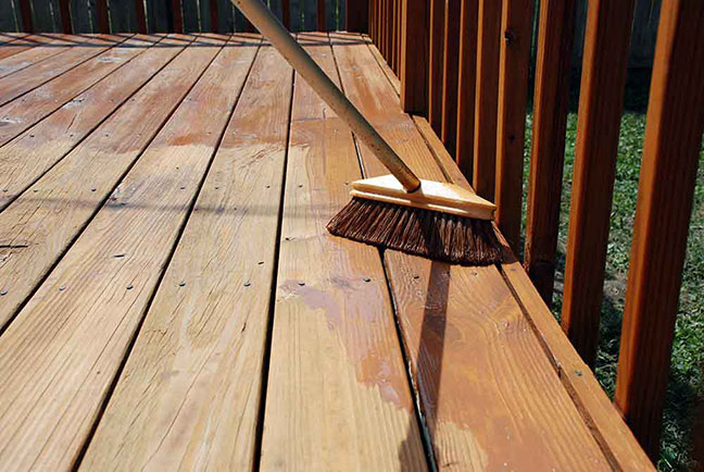 deck drying time